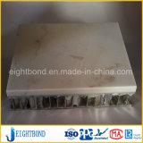 Leichtes Steinmarmoraluminiumzwischenlage-Bienenwabe-Panel für Baumaterialien