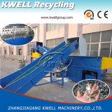 De Machine van de Ontvezelmachine van het Recycling van de Pijp van het Blok van de Zak van het Stuk van de plastic Film