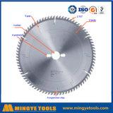 A circular do Tct viu o funcionamento rápido da lâmina para o alumínio