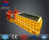 Triturador do rolo dos dentes do dobro do triturador dos dentes de carvão com ISO