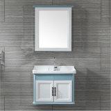 Mur - Salle de bains en fibre de carbone montés lavabo avec miroir Cabinet T010-60