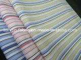 Los hilados de algodón teñido de la banda de tejido Oxford