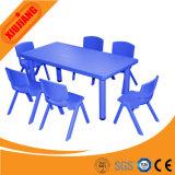 Mesa quadrada de plástico para crianças baratos para venda