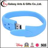 цветастый привод вспышки USB силикона Pendrive ручки USB Wristband браслета 16GB