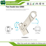 De vrije Aandrijving van de Flits van Steekproeven type-C USB 8GB met het Embleem van de Douane