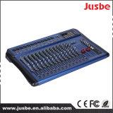 16のチャネルのプロ可聴周波ミキサーか混合コンソール