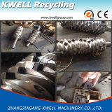 Block-Material/Reifen/großer röhrenförmiger einzelner Welle-Reißwolf/Zerkleinerungsmaschine-Schleifer, der Maschine aufbereitet