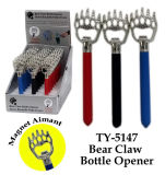 Funny Bear Claw Abrebotellas Toy
