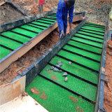 Línea completa de equipo aluvial de la minería aurífera para la venta
