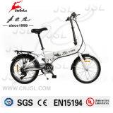 """Portable bianco 20 """" 36V che piega i cicli elettrici con Ce (JSL039B-6)"""