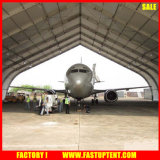 布張の建物の頑丈な材料が付いている耐久の航空機の格納庫