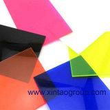 1220 * 2440mm plexiglás transparente de color molde de hoja de acrílico para la publicidad