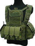 Canteen Hydration Woodland Camo Tactical Vest
