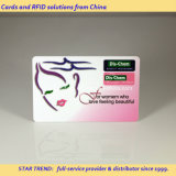 Plastic cartão magnético como Membership Card Beauty Salon