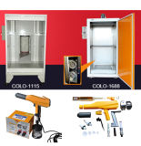 Puder-Beschichtung-Gerät für kleine Metallfertigstellung