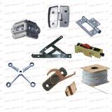 Bisagras de puerta de aluminio para las guarniciones de los accesorios del hardware