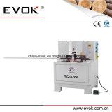 Woodworking Semi автоматический удваивает увидел автомат для резки с 45 градусами (TC-828A)