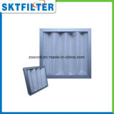 G3 Filtro de fibra sintética de cor branca para purificação de ar