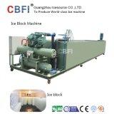 Máquina de gelo aprovada do bloco da salmoura do Ce para a venda