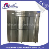 Tür-Küche-Kühlraum der Edelstahl-Gefriermaschine-6 für Nahrungsmittelspeicher