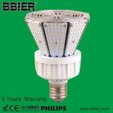보장 5 년을%s 가진 ETL UL Dlc 9600lm 80watt LED 포스트 상단 램프