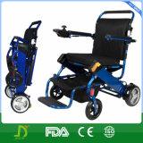 지능 무능한과 연장자를 위한 모든 지형 경량 힘 휠체어