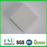 pierre artificielle extérieure solide blanche de quartz de 12mm