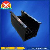 Анодированный чернотой плотный теплоотвод алюминия ребер
