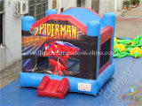 Castello gonfiabile del Bouncer di tema dello Spider-Man da vendere
