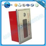 Roter Metallfeuerschutzanlage-Schrank