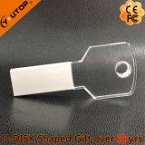Cadeaux promotionnels pour les entreprises Crystal Key USB Pen Drive (YT-3213-10)