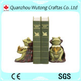 Figura reggilibro degli animali della resina di Hotsale dello scrittorio della resina di disegno per il regalo promozionale