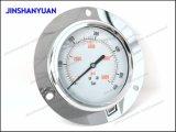 Tipo calibrador de Og-022 Wika de presión con el borde delantero/el manómetro llenado líquido