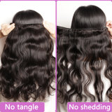 Full Head Top Grade Quality 30inch Natural Black Color Long Hair