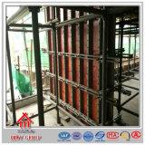 鋼鉄コンクリートの建物作業物質的な壁の型枠