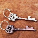 Rétro bouteille Porte-clés en métal personnalisé Ouverture créative de bière