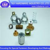 Controdado di nylon placcato zinco del acciaio al carbonio DIN985 DIN982
