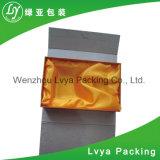 Rectángulo del cosmético del papel de rectángulo de papel del regalo de la cartulina
