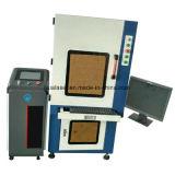 UV машина маркировки лазера 7W с малым диаметром пятна фокуса