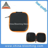 Bolsa de almacenamiento impermeable Zipper Bluetooth Auriculares Earbuds Hard Case