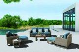 庭の藤の柳細工のテラスの屋外のSiriのホームホテルのオフィスのラウンジの屋外のソファー(J517)