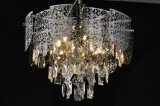Lámpara pendiente cristalina moderna de la iluminación de Maxer