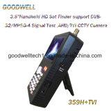 中国製完全なHD 3.5インチのデジタルCCTVのカメラのために出力されるDC12Vの衛星ファインダーのメートル