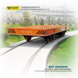 Carrello ferroviario di trasporto di maneggio del materiale di 150 tonnellate sulle rotaie curve