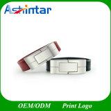 USB de couro Pendrive da vara USB3.0 do USB do Wristband