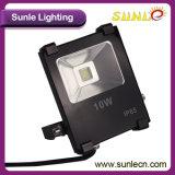 IP65 Meanwell 운전사 10W 옥외 LED 투광 조명등 (SLFI SMD 10W)