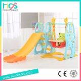 Популярные крытые скольжение детей и игрушка качания с обручем баскетбола (HBS17025C)