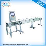 Máquina de classificação do pesador com sistema automático da rejeição
