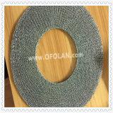 Malha de arame tecido em níquel de malha de crochet especial