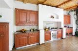 Mobilia domestica di legno su ordine dell'armadio da cucina del portello del PVC della mobilia